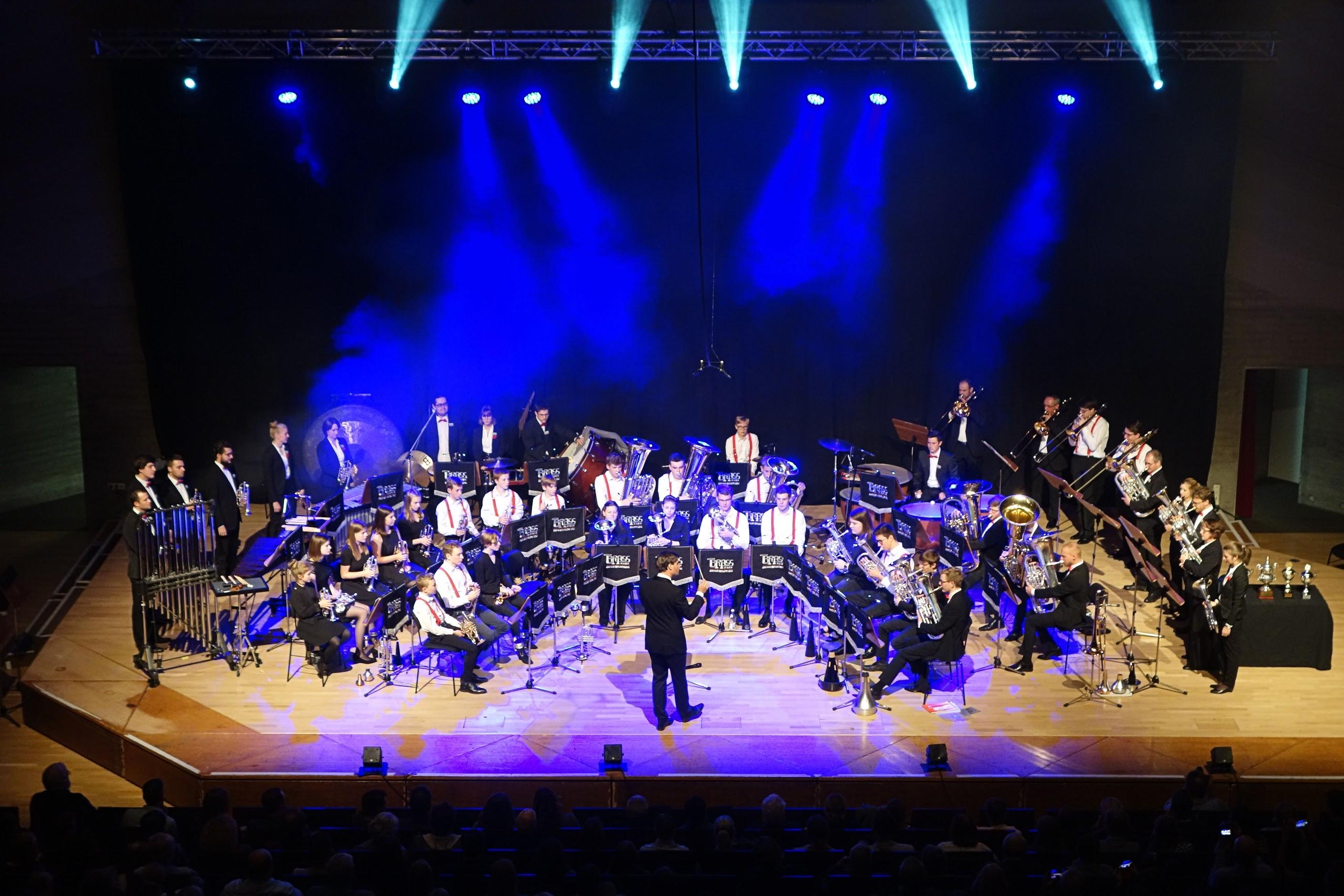 Abschlusskonzert des Brass Band Camps 2021