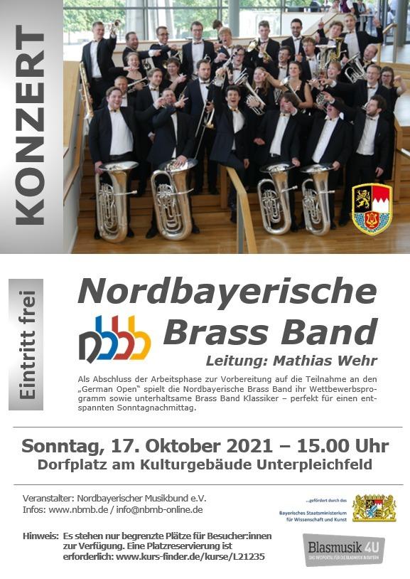 Konzert Nordbayerische Brass Band (Tryout-Konzert)